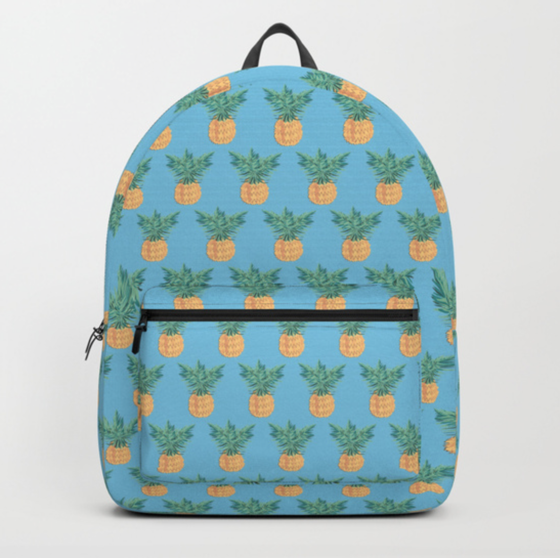 Backpack society 6 pineapple